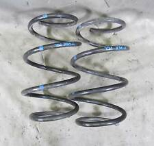 BMW E46 3-Series E39 Front Axle Factory Sports Coil Spring Pair Left Right 99-06