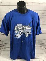 Tampa Bay Lightning 2004 Champions T-Shirt Size XL
