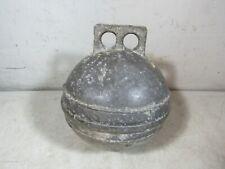 "Vintage/Antique Cast Aluminum Metal Fishing Buoy Float Maritime Nautical 8"""
