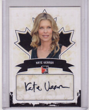 KATE VERNON 10/11 ITG Canadiana Auto Autograph A-KV2 Heroes Battlestar Galactica