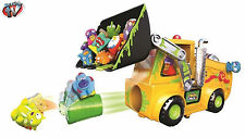 The Trash Pack Series Playset Toy, Bulldozer Set, Load n' Launch NEW