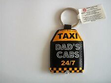Dads cabs LED light up key ring super bright long life LEDS  batteries included