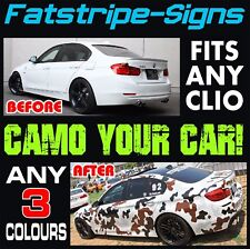 RENAULT CLIO MK1 MK2 CAMO GRAPHICS STICKERS STRIPES DECALS SPORT 172 182 RS V6 D