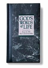 NEW - God's Words of Life from the NIV Men's Devotional Bible