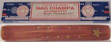 'Nag Champa' Incense Box + Mango Incense Holder