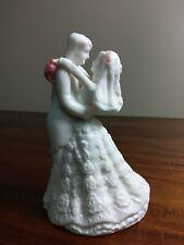 Bride and Groom Wedding Cake Topper/Keepsake