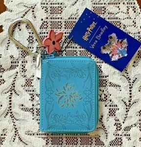 Harry Potter, Vera Bradley Herbology Book Bag Charm - Mini Wallet - Faux Leather