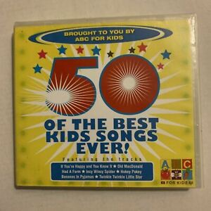 ABC For Kids - 50 Of The Best Kids Songs Ever! (CD, 2006)