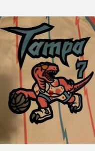 Toronto Raptors Tampa RARE White Jersey brand new next day shipping
