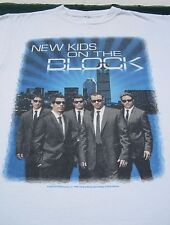 New Kids on the Block 2008 tour Large concert T-Shirt