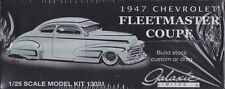 1947 Chevrolet Fleetmaster Coupe  1/25th Plastic Model Kit #13031 Galaxie LTD