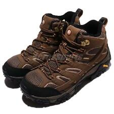 Merrell Moab 2 Mid GTX II Gore-Tex Vibram Brown Black Men Outdoors Shoes J06063