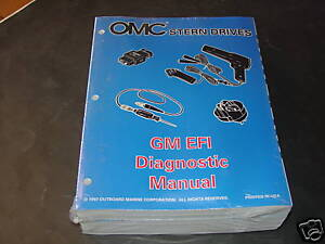 1998 OMC STERN DRIVES SERVICE MANUAL SET OF 5 MANUALS