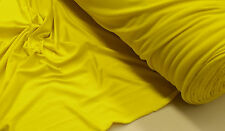 DUALTECH POLY/SPANDEX SPORTS WEAR FABRIC : YELLOW : $4.99 P/M : #NYK450EY