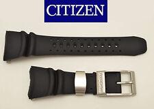 Citizen Eco-Drive Original DIVERS Watch Band  BLACK Rubber Strap  BJ8050-08E