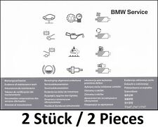 2x BMW Book Service History Service Book Manual Log Inspection
