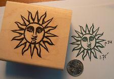 "P34 Sun rubber stamp WM 1.75"""