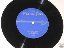 """Les McCann LTD 7"""" 33 HEAR PACIFIC JAZZ The Truth Part 1&2"""