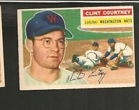 1956 Topps # 159 Clint Courtney Ex-Mt