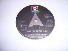 """THE DRAMATICS You're Fooling You ABC RECORDS 1975 UK PROMO 7"""" VG+"""