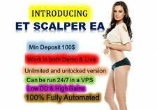 Forex EA Robot ET (Evil Twin) Scalper Expert Advisor high gain low DD%