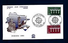 FRENCH ANDORRA - ANDORRA FRANCESE - 1984 - Europa. 25° anniv. della CEPT - (A)