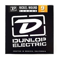 JIM DUNLOP ELECTRIC GUITAR STRING SET LIGHT STRINGS 9-42 NICKEL WOUND DEN942