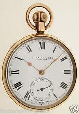 JOHN RUSSEL LONDON - VERGOLDETE SCHWEIZER LEPINE TASCHENUHR - ALTER: um 1910