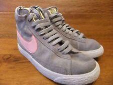 Nike  Blazer Grey Suede Hi Top   Trainers Size UK 4 EU 36.5
