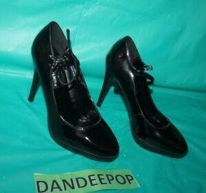 Pleaser Black Patent Leather Pumps Stiletto High Heels 5266 Size Women's 6