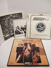 Verdi -Requiem OSA 1275 NM Sutherland Pavarotti Horn 2 LP Collector's Box Set