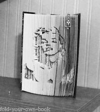 Cortar y doblar Libro Plegable patrón Marilyn Monroe (230 pliegues) # 486