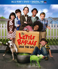 The Little Rascals Save the Day (Blu-ray, DVD, Digital HD, 2014, Slipcover)