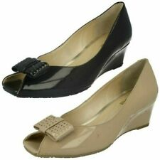 Ladies Van Dal Peep Toe Shoes 'Pasadena'