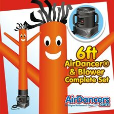 Orange Air Dancer ® & Blower 6ft Sky Dancer