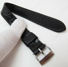 "HADLEY,WW2 Era,16mm,R,40's,""Genuine Alligator"" US MADE,MEN'S WATCH BAND,B16-132"