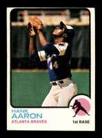 1973 Topps #100 Hank Aaron  EX X1630409