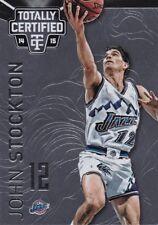John Stockton  2014-15 Totally Certified Basketball Sammelkarte, #129