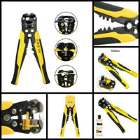 HOT-Automatic Wire Cutter Stripper Pliers Electrical Cable Crimper Terminal Tool