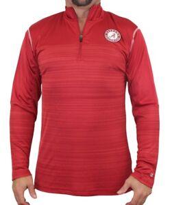 "Alabama Crimson Tide NCAA Champion ""Zone Blitz"" Men's 1/4 Zip Pullover Shirt"