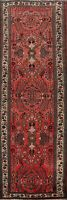 Vintage Floral Traditional Runner Rug Hand-Knotted Oriental Hallway 4x10 Carpet
