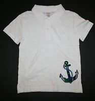 New Gymboree Boys Outlet White Polo Plaid Anchor Top Tee Shirt NWT 3T 4 6 8 Year