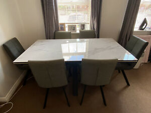 Furniture Village Dining Table Table Chair Sets For Sale Ebay
