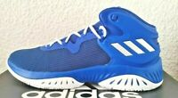 Herren adidas Explosive Bounce blau silber Basketballschuhe Sportschuhe 46 - 50