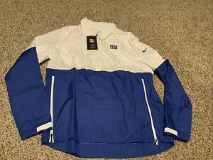 Nike New York Giants Lightweight  1/2 Zip Pullover Jacket Men's Size: 2XL 2020