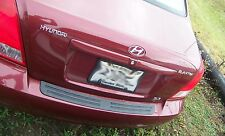 REAR BUMPER PROTECTOR COMPATIBLE WITH 2001 2010 01 10 HYUNDAI ELANTRA 4 DR SEDAN