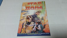 Star Wars: Dark Force Rising Graphic Novel by Timothy Zahn (1998) SIGNED