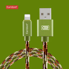 Braided USB Data Snyc Charger Charging Cable For iPhone 5 6S Plus Samsung