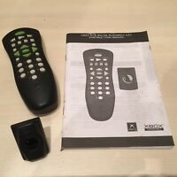 MICROSOFT XBOX ORIGINAL OFFICIAL DVD REMOTE CONTROL & RECEIVER + MANUAL