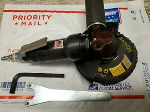 """Topcat 4.5"""" air right angle grinder USA Industrial duty"""